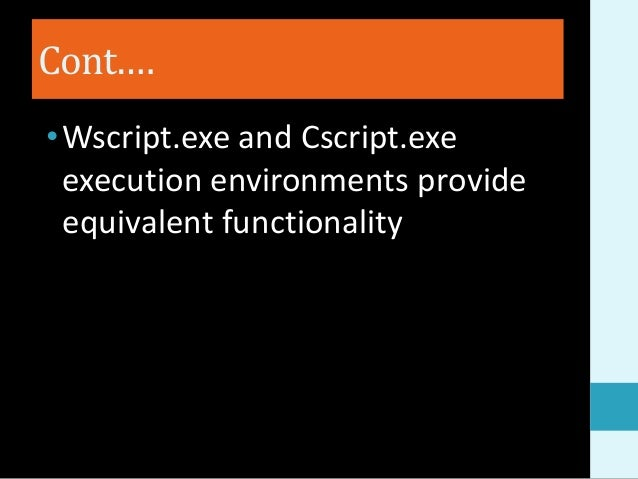 Learn VBScript – Part 1 of 4