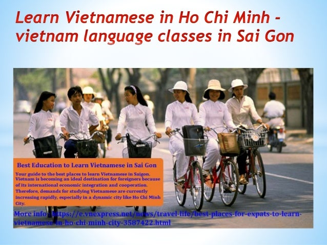 Learn vietnamese in ho chi minh vietnam language classes in