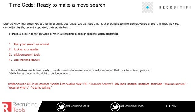 11 power boolean searches and 7 sourcing tools webinar