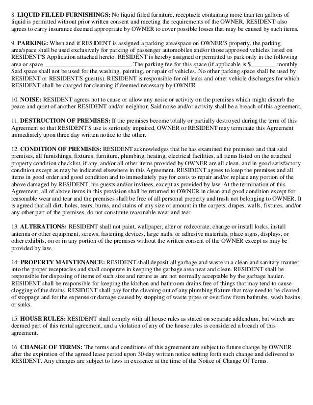 Lease Basic Rental Agreement Vatozozdevelopment