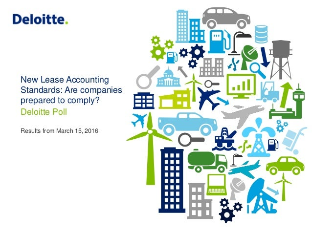 New Lease Accounting Standards: Are companies prepared to comply? Deloitte Poll Results from March 15, 2016