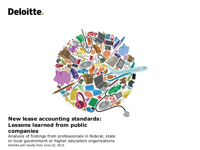 New lease accounting standards: Lessons learned from public companies Analysis of findings from professionals in federal, ...