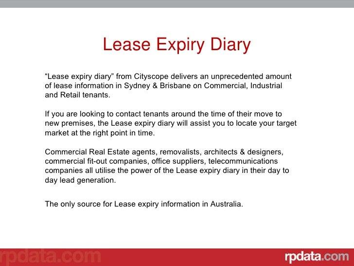 Experation date in Brisbane