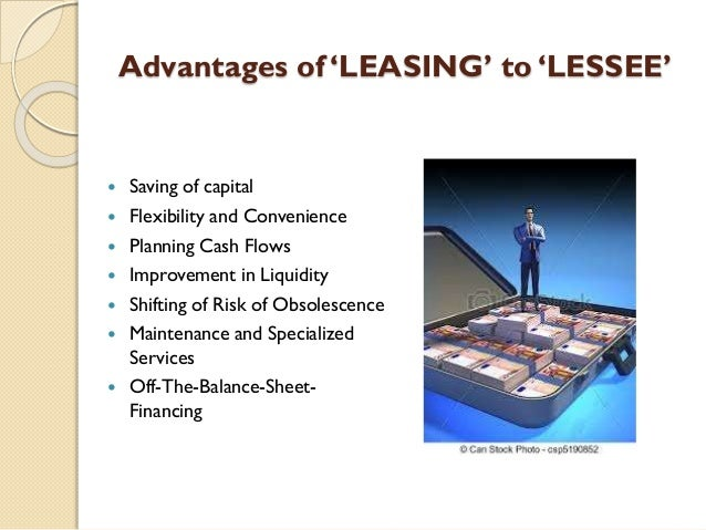 Capital Vs Operating Lease >> Lease financing