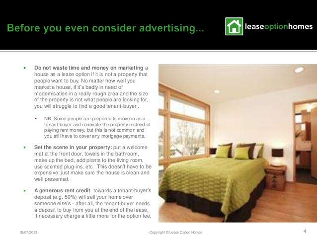 Lease option homes marketing tips ccuart Image collections