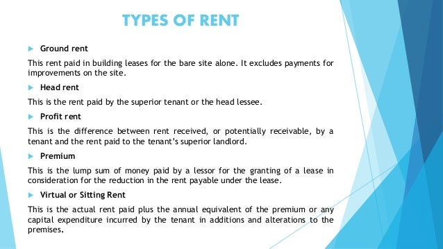 Lease Term Rent Outgoings And Other Property ManagementMuwonge Rap