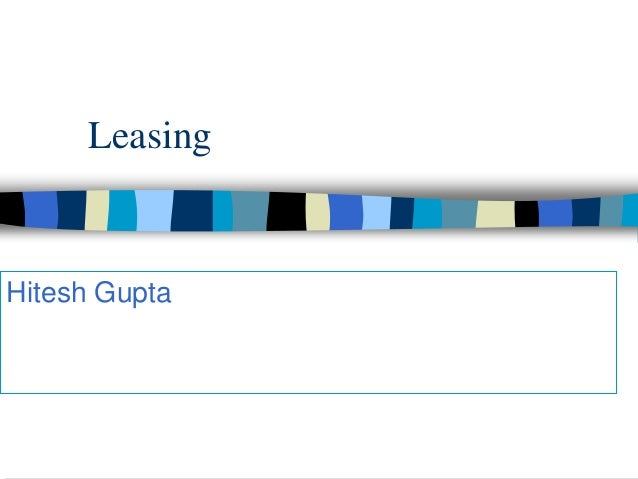 LeasingHitesh Gupta