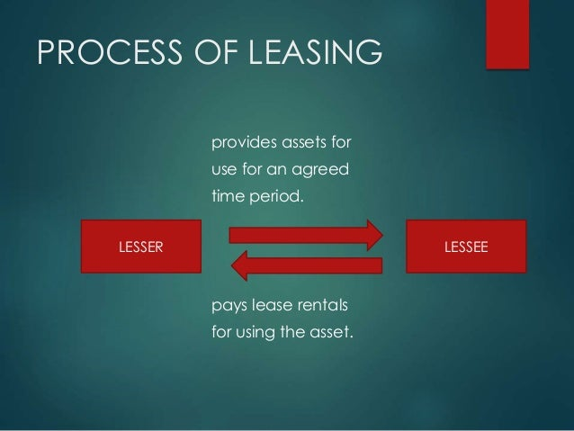 leasing and hire purchase