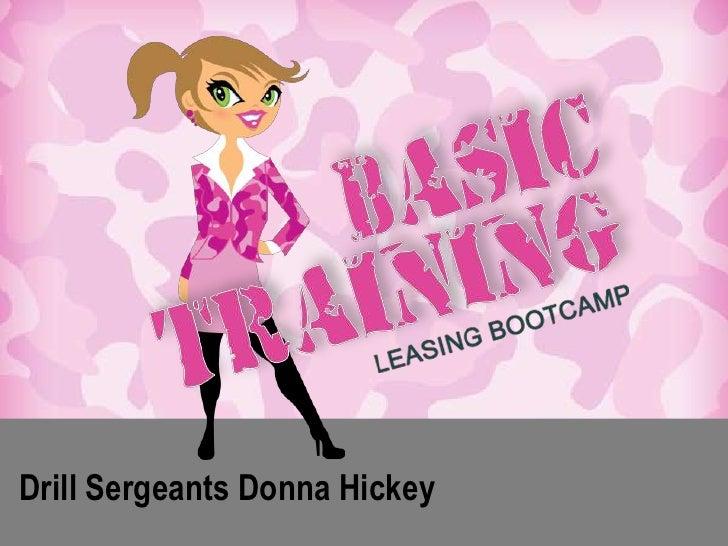 Drill Sergeants Donna Hickey<br />