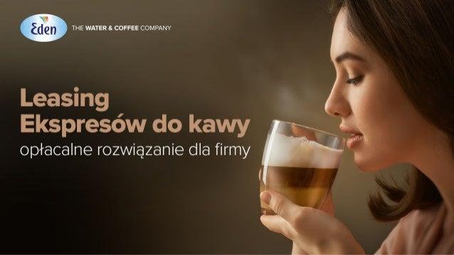 Tytuł: Leasing ekspresów do kawy – opłacalne rozwiązanie dla firmy