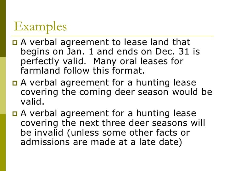 Hunting Lease Agreement