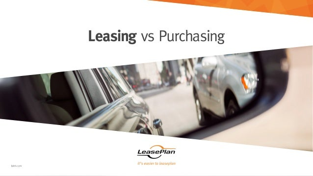 Leasing Vs Purchase For Business Vehicles