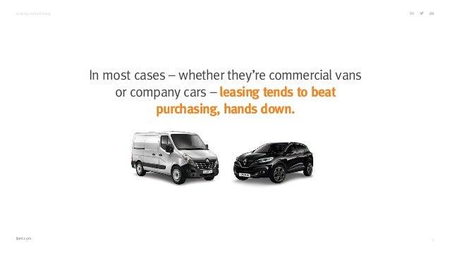car leasing vs purchasing