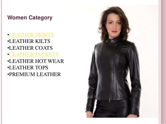 c96b1d36f10 Leather Clothing For Men   Women