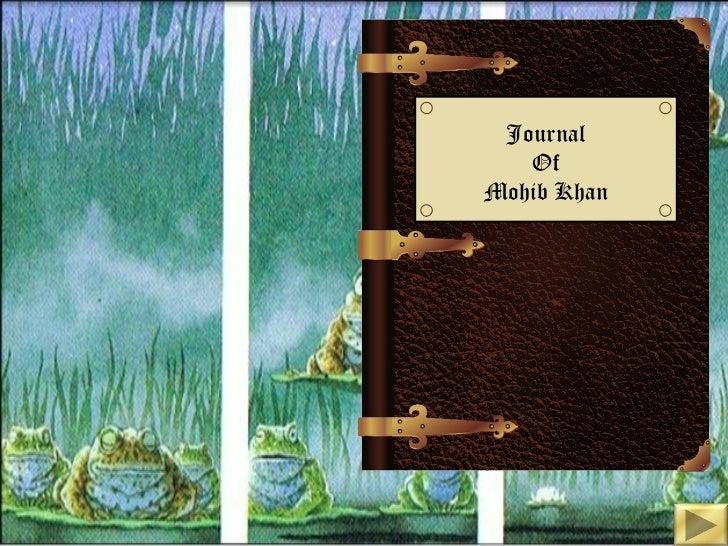 Journal   OfMohib Khan