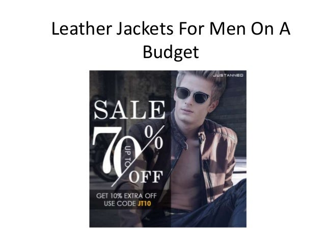 Leather Jackets For Men On A Budget