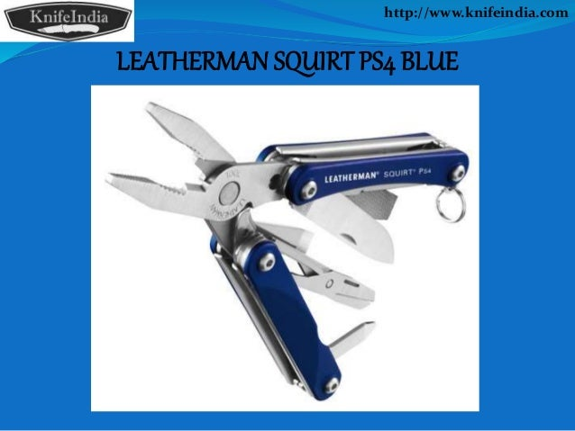Leatherman Squirt slida