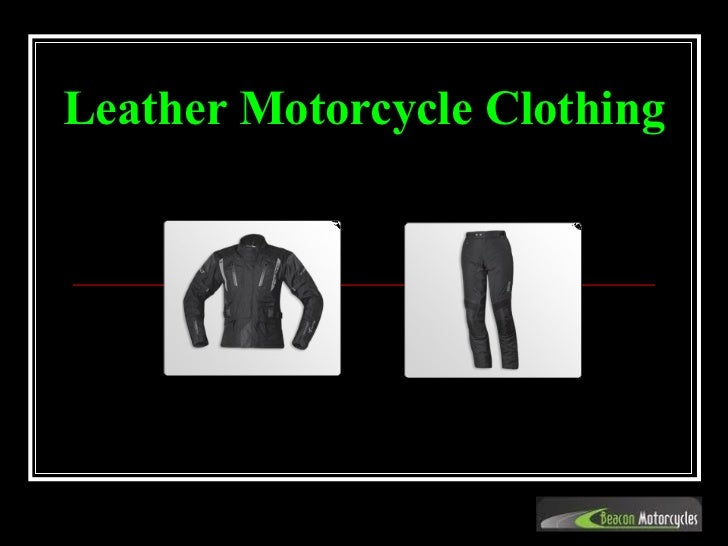 Leather Motorcycle Clothing