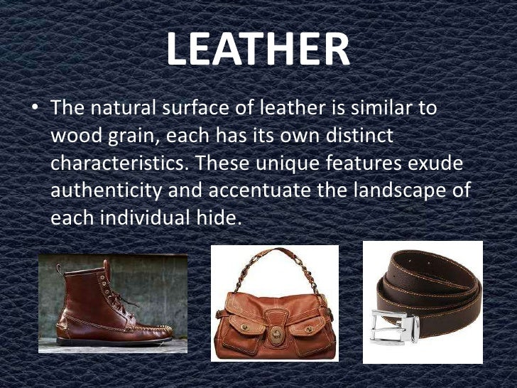 Leather processing Slide 3