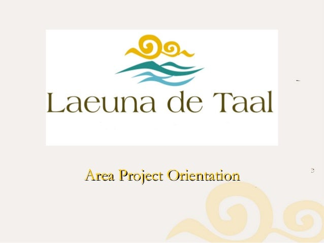 Area Project OrientationArea Project Orientation