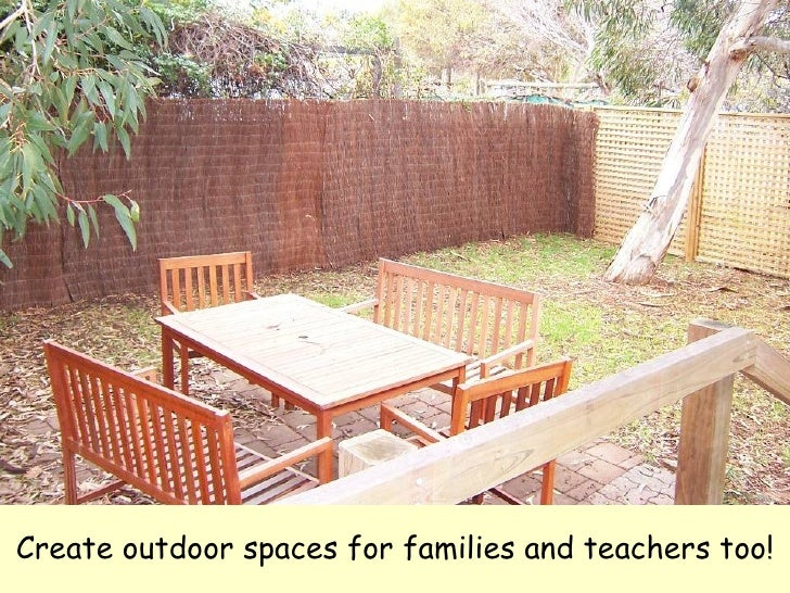 Leave no child inside - Cozy outdoor living spaces connecting mother nature ...