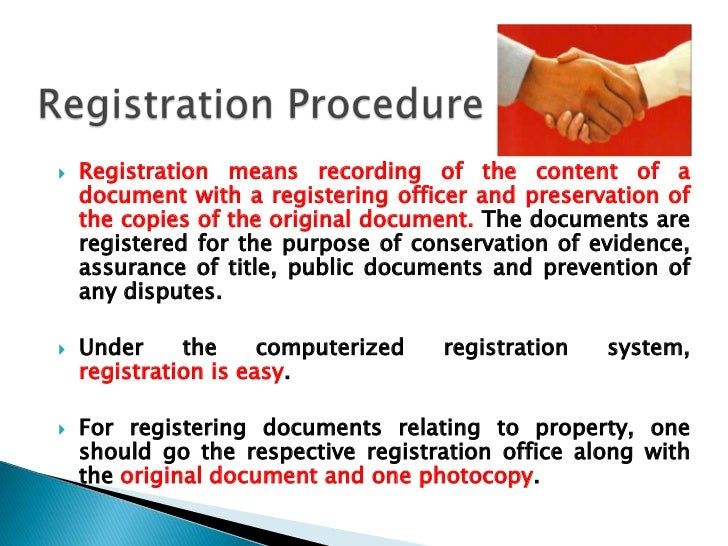 Easement Under Transfer Of Property Act