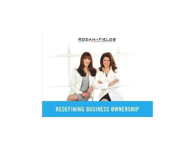 Rodan Fields Business Presentation