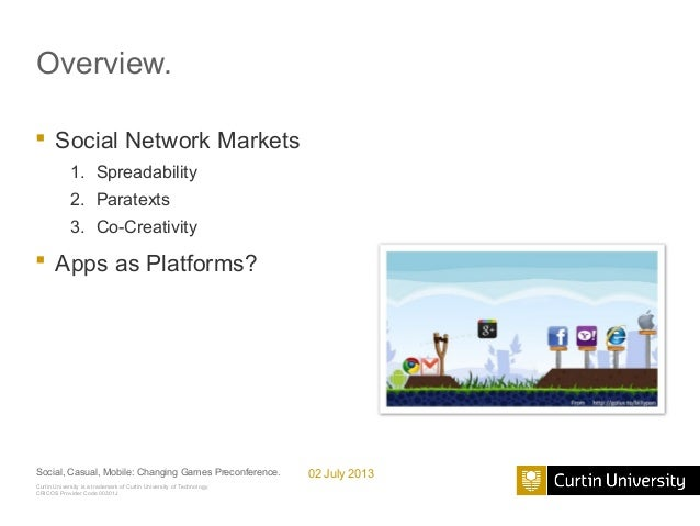 Angry Birds as a Social Network Market Slide 2
