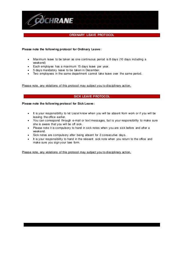 Employee Leave Form Employee Leave Application Format Executive