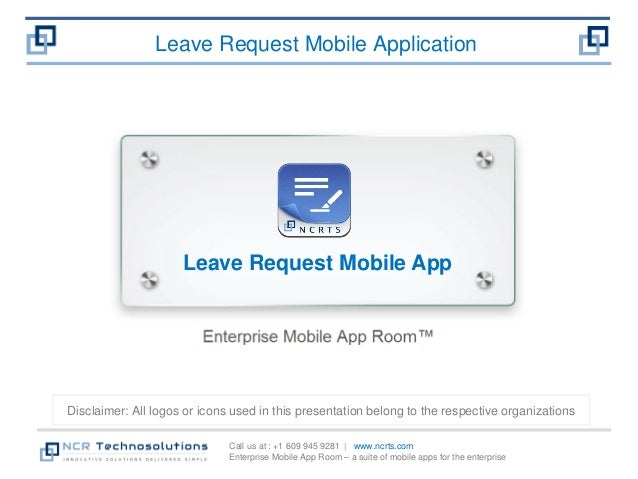 Leave request mobile app - Full featured leave life cycle