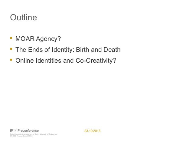 Co-creating Life and Death on Social Media? Slide 2