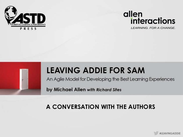 A CONVERSATION WITH THE AUTHORS