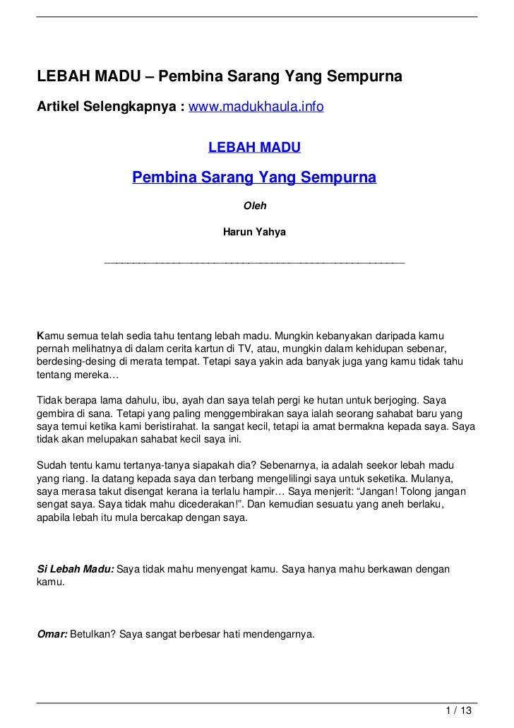 LEBAH MADU – Pembina Sarang Yang SempurnaArtikel Selengkapnya : www.madukhaula.info                                     LE...
