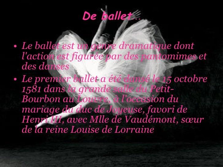 Le ballet Slide 2