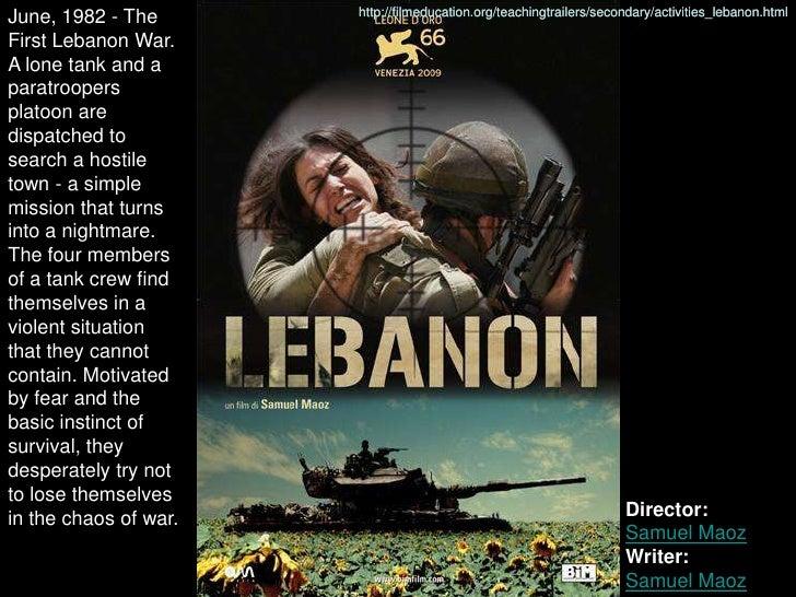 June, 1982 - The       http://filmeducation.org/teachingtrailers/secondary/activities_lebanon.html  First Lebanon War. A l...