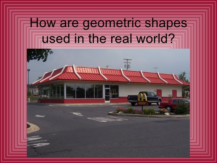 geometric shapes in the real world