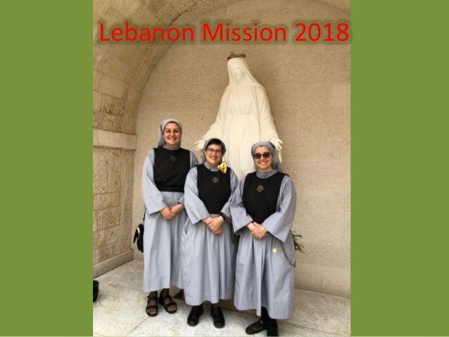 Lebanon Mission 2018