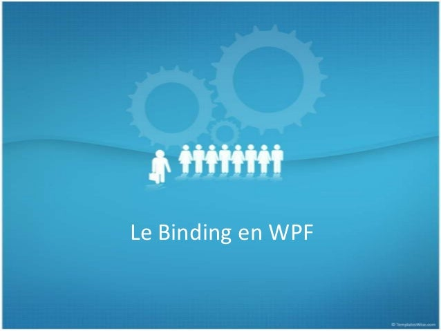 Le Binding en WPF