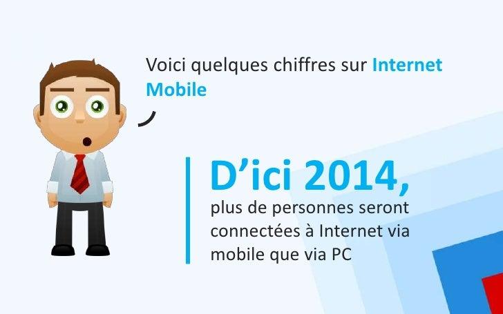 Voici quelques chiffres sur InternetMobile       D'ici 2014,       plus de personnes seront       connectées à Internet vi...
