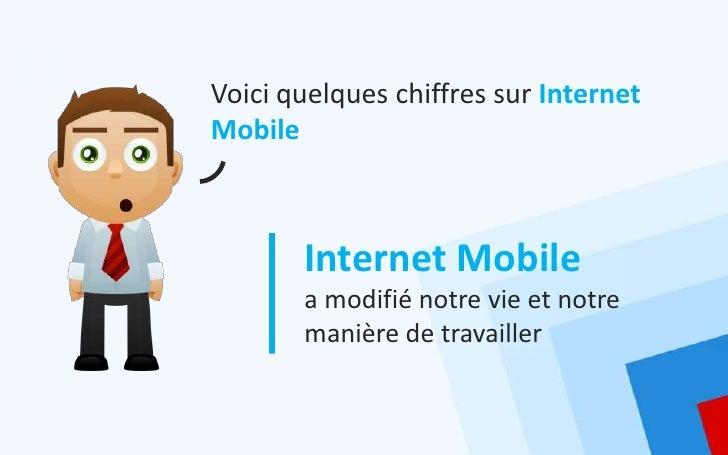 Voici quelques chiffres sur InternetMobile       Internet Mobile       a modifié notre vie et notre       manière de trava...