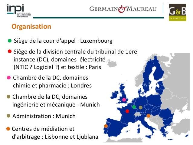 Le brevet unitaire europ en pr sent par l inpi le for Chambre d arbitrage