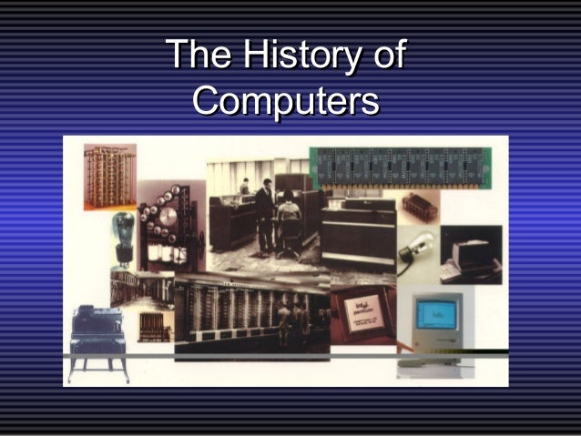 a history of computers and its evolution Company history apple computers, inc was founded on april 1, 1976, by college dropouts steve jobs and steve wozniak, who brought to the new company a vision of changing the way people viewed computers.