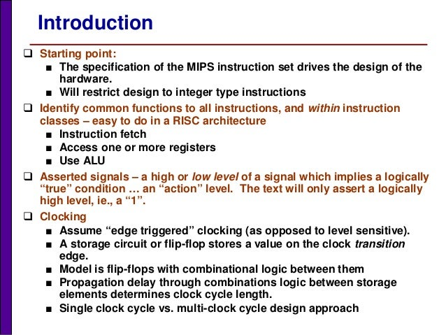 MIPS – Market-leading RISC CPU IP processor solutions