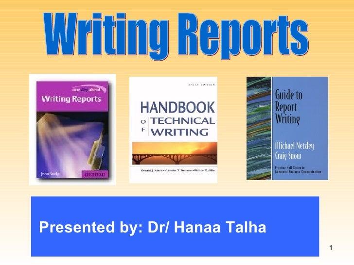Presented by: Dr/ Hanaa Talha                                1