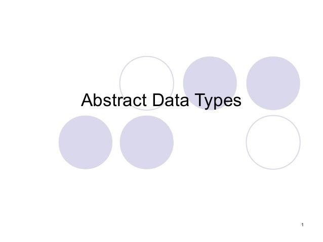 algo u0026gt abstract data type