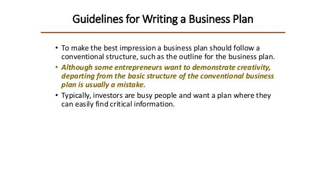 top 10 mistakes entrepreneurs make when writing a business plan