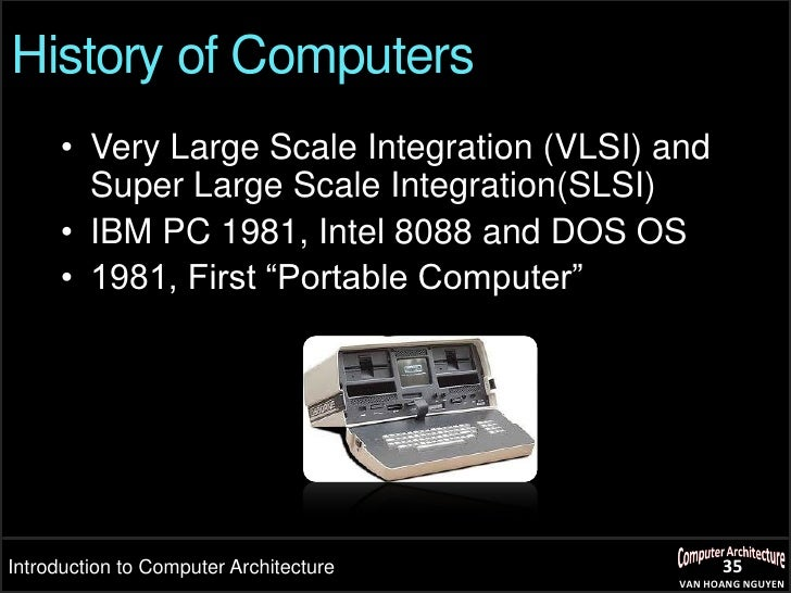 the history and functions of computers Computers differ based on their data processing abilities they are classified according to purpose, data handling and functionality according to purpose, computers.
