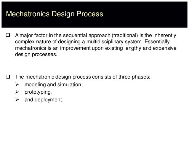 Lec 01 Introduction Mechatronic Systems
