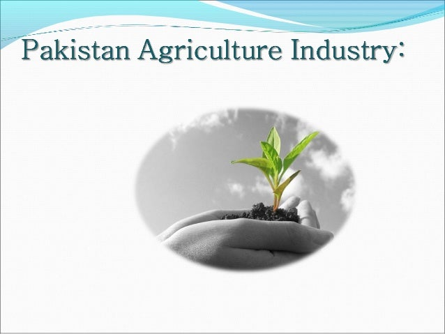  Vital sector of Pakistan's economy  Accounts for 21.4 percent of GDP  Directly supports three-quarters of the country'...