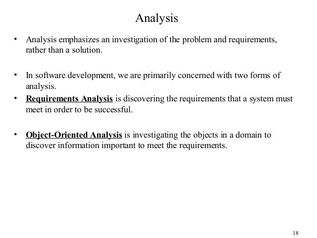 Object oriented analysis and design 18 malvernweather Choice Image